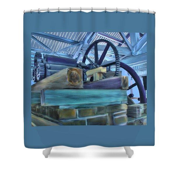 Sugar Mill Gizmo Shower Curtain