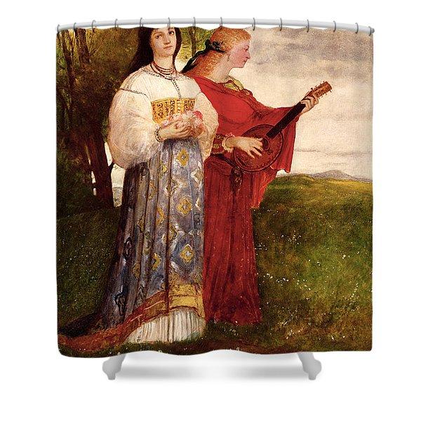 Summer, 1873 Shower Curtain