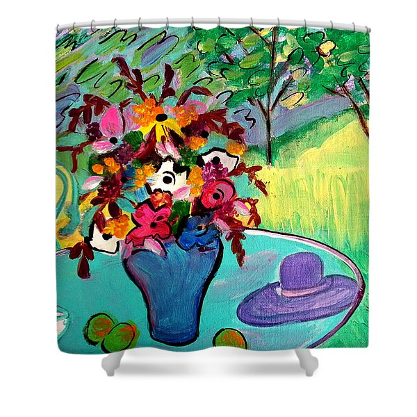 Summer Blooms Reload Shower Curtain