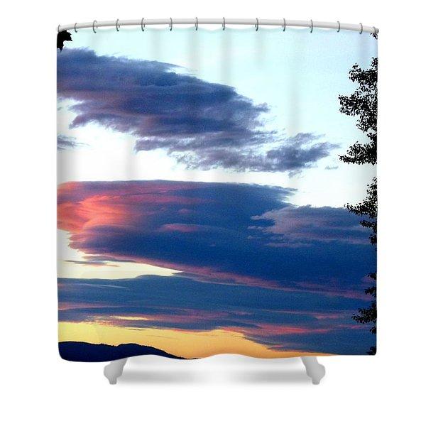 Summer Grandeur Shower Curtain