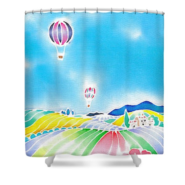 Summer Lights Shower Curtain