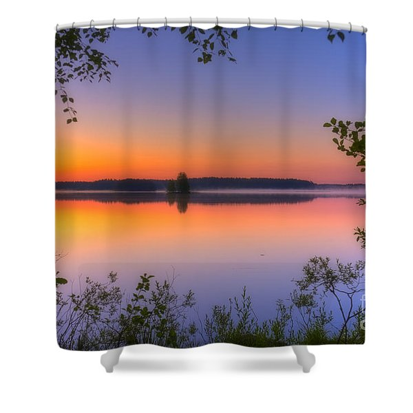 Summer Morning At 02.05 Shower Curtain