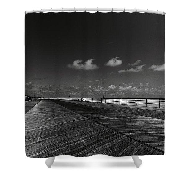 Summer Noir Shower Curtain