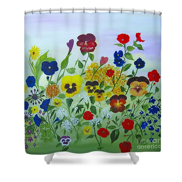 Summer Smiles Shower Curtain