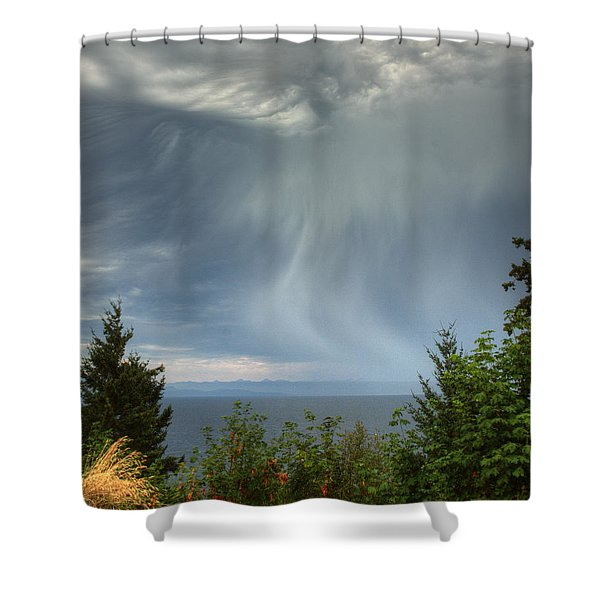 Summer Squall Shower Curtain
