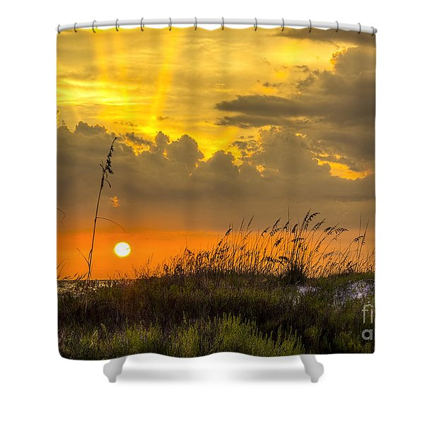 Summer Sun Shower Curtain
