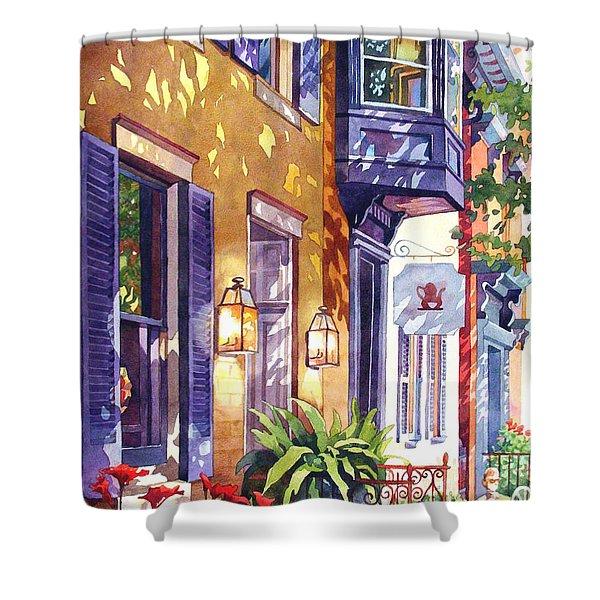 Summer Tea Shower Curtain