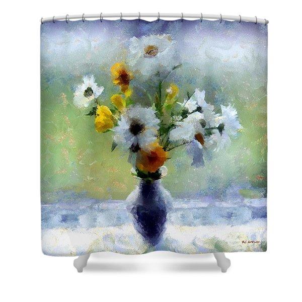 Summerstorm Still Life Shower Curtain