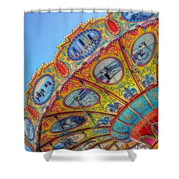 Summertime Classic Shower Curtain