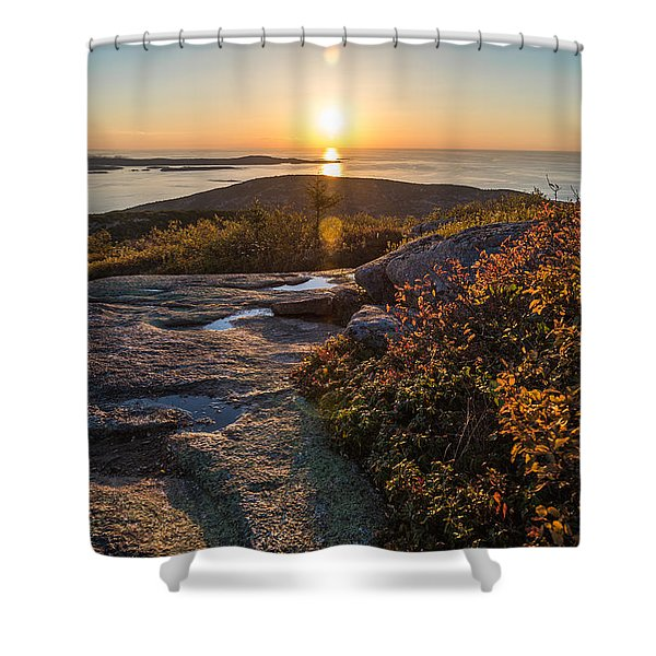 Sun Rise Shock Shower Curtain