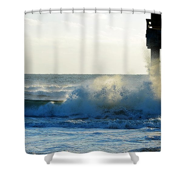 Sun Splash Shower Curtain