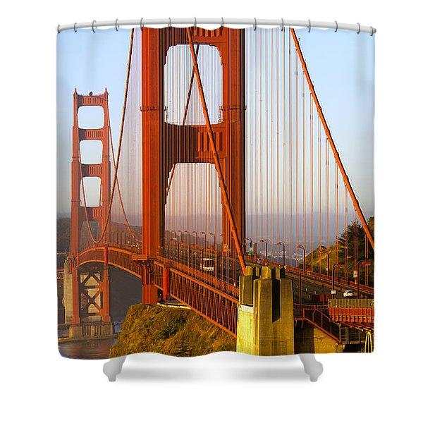 Sunday Morning Traffic Shower Curtain
