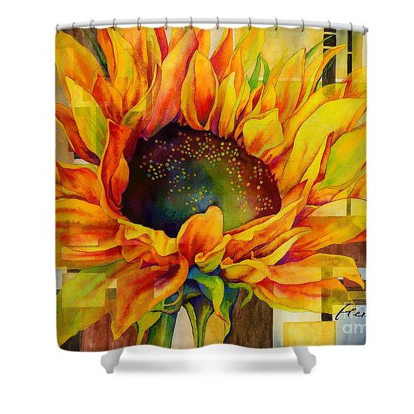 Sunflower Canopy Shower Curtain
