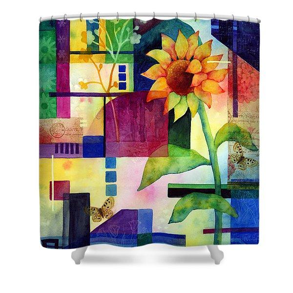 Sunflower Collage 2 Shower Curtain