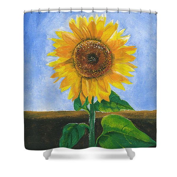 Sunflower Series Two Shower Curtain