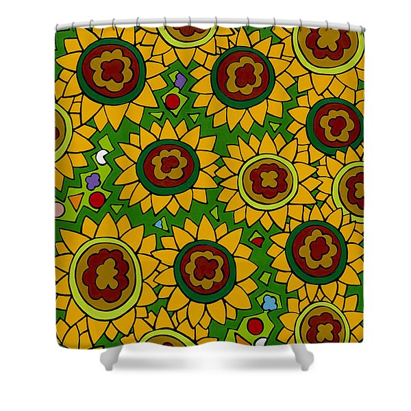 Sunflowers 2 Shower Curtain