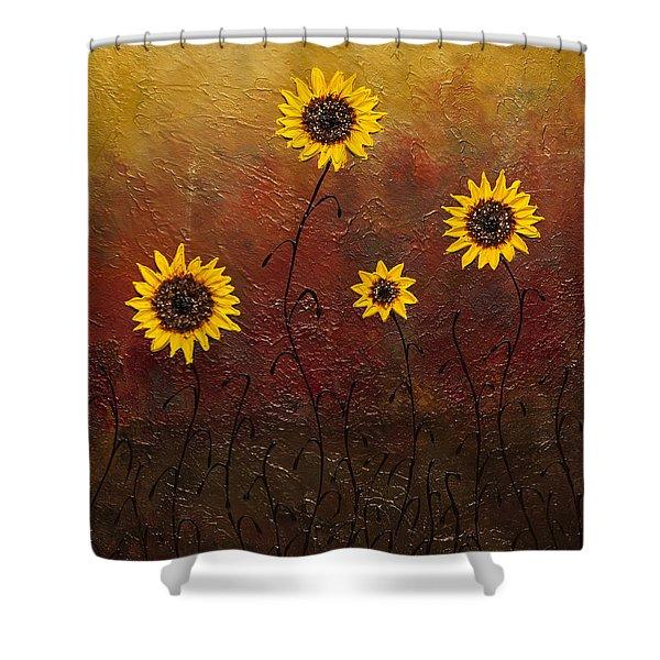 Sunflowers 3 Shower Curtain