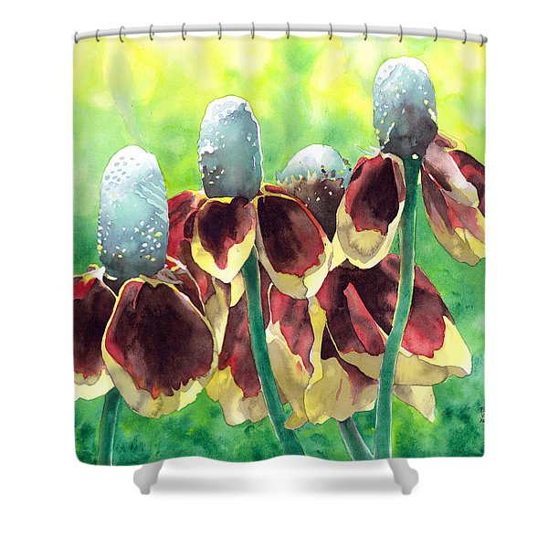 Sunny Hats Shower Curtain