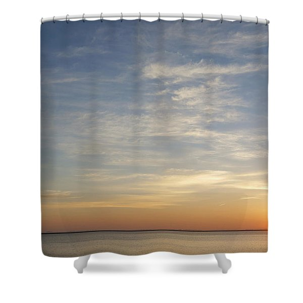 Shower Curtain featuring the photograph Sunrise At Cheyenne Bottoms by Rob Graham