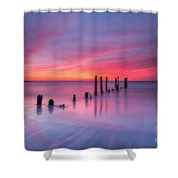 Sunrise At Deal Nj Shower Curtain