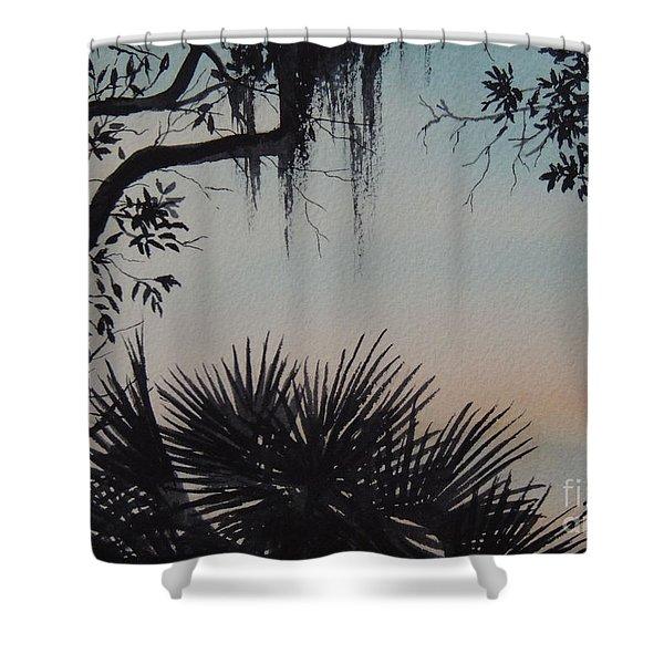 Sunrise At Shellmans Bluff Shower Curtain