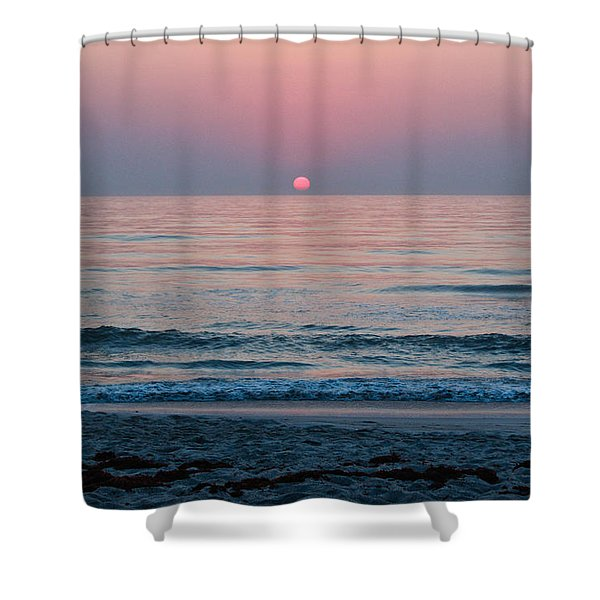 Sunrise Blush Shower Curtain