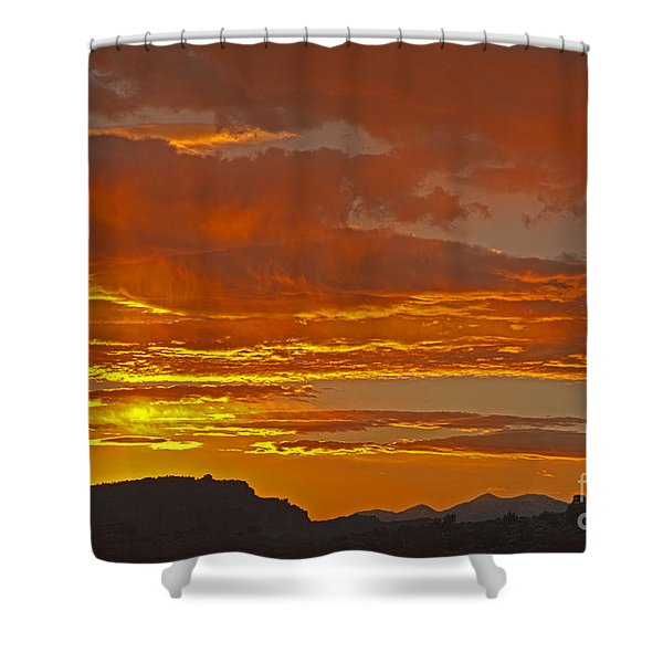 Sunrise Capitol Reef National Park Shower Curtain
