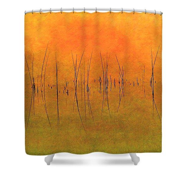 Sunrise On The Bay Shower Curtain