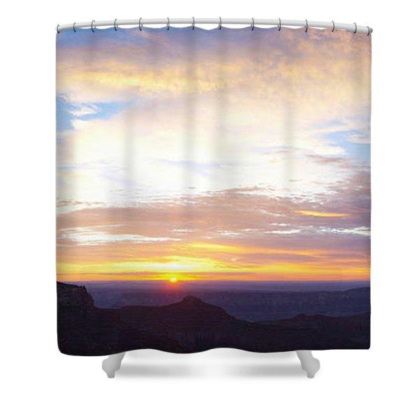 Sunrise On The Colorado Plateau Shower Curtain