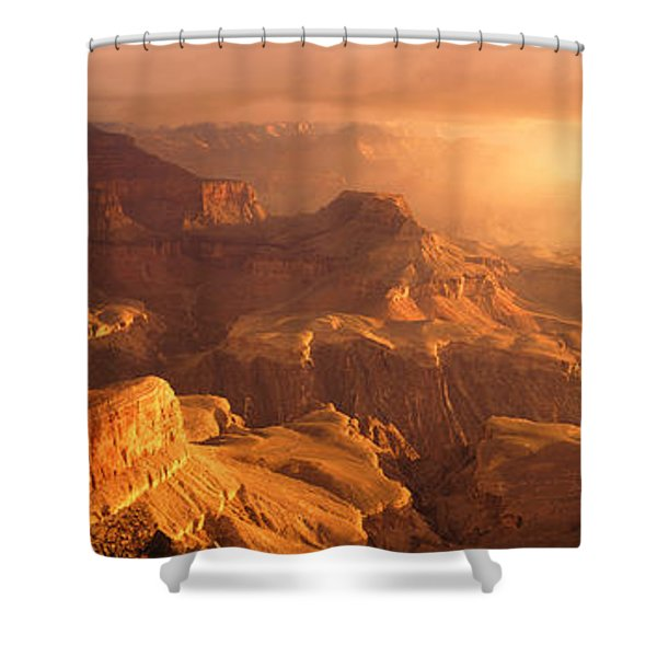Sunrise View From Hopi Point Grand Shower Curtain