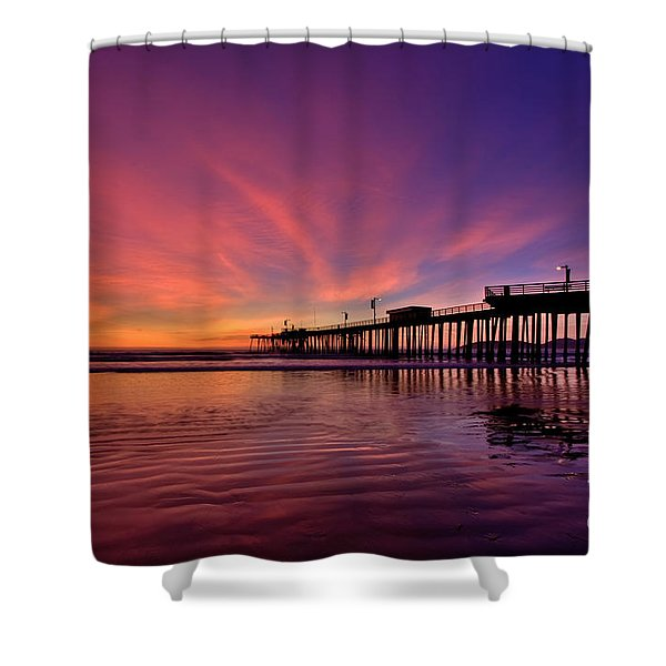 Sunset Afterglow Shower Curtain