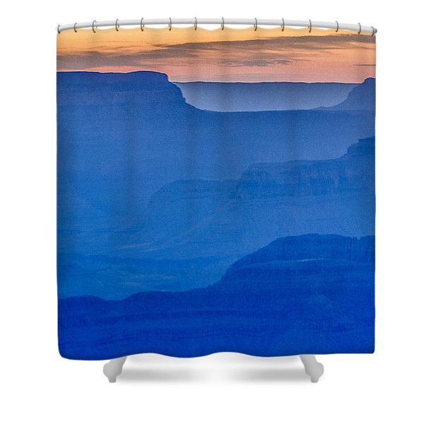 Sunset At South Rim Shower Curtain