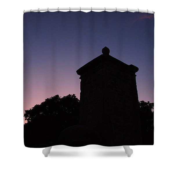 Sunset At The Gate Shower Curtain