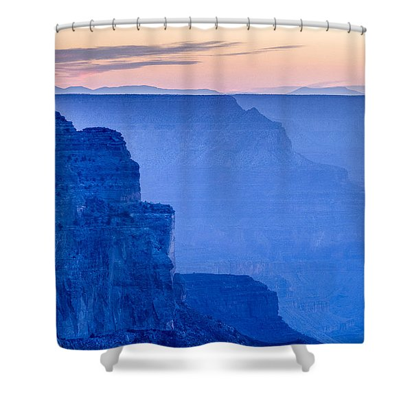 Sunset At The South Rim Shower Curtain