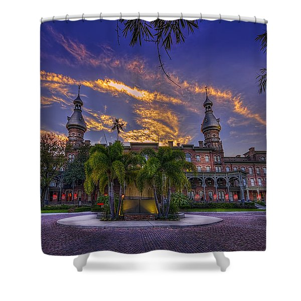 Sunset At U.t. Shower Curtain