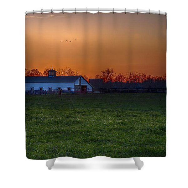 Walmac Farm Ky  Shower Curtain