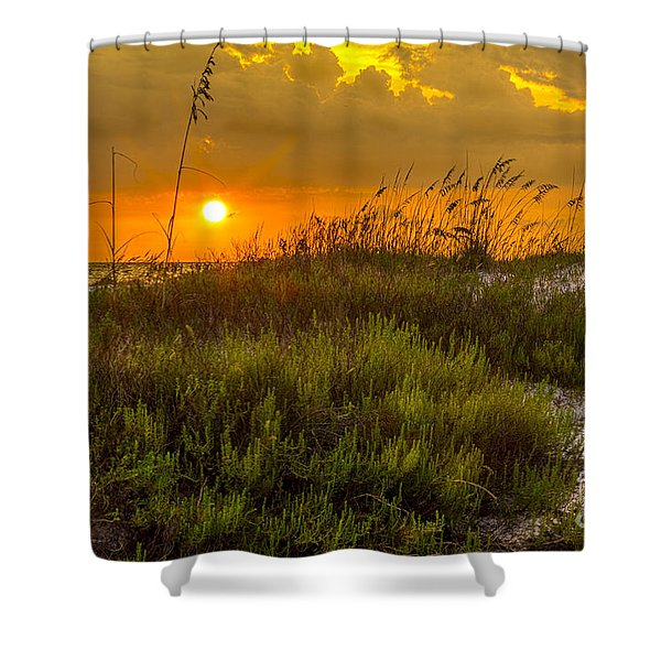 Sunset Dunes Shower Curtain