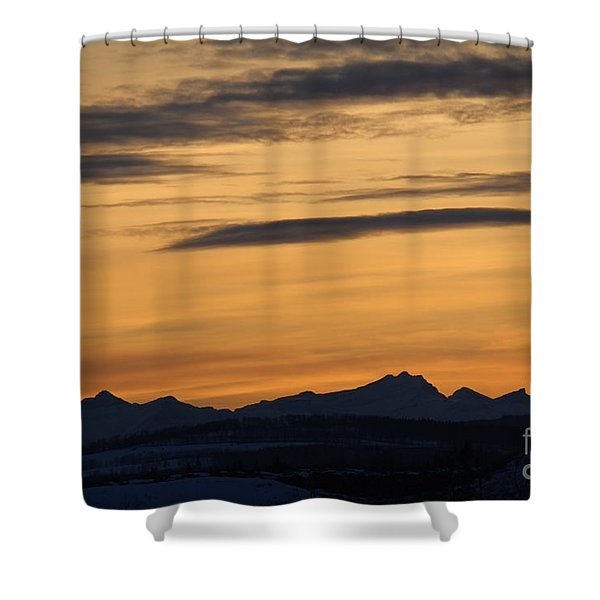 Sunset From 567 Shower Curtain
