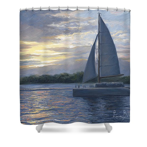 Sunset In Key West Shower Curtain