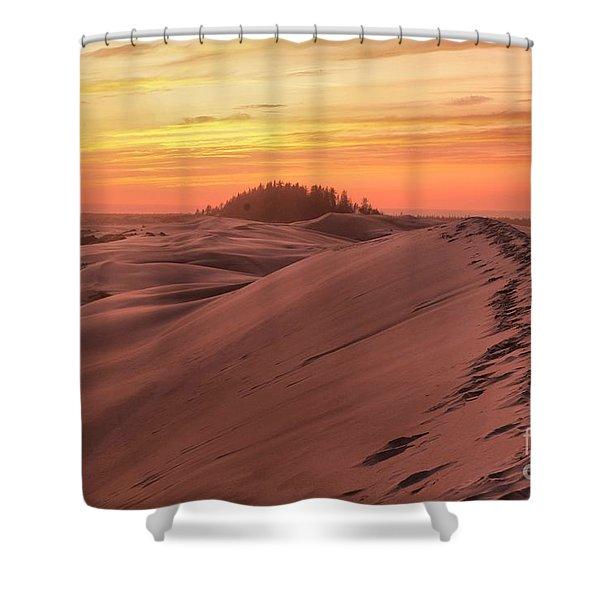 Sunset On The Ridge Shower Curtain