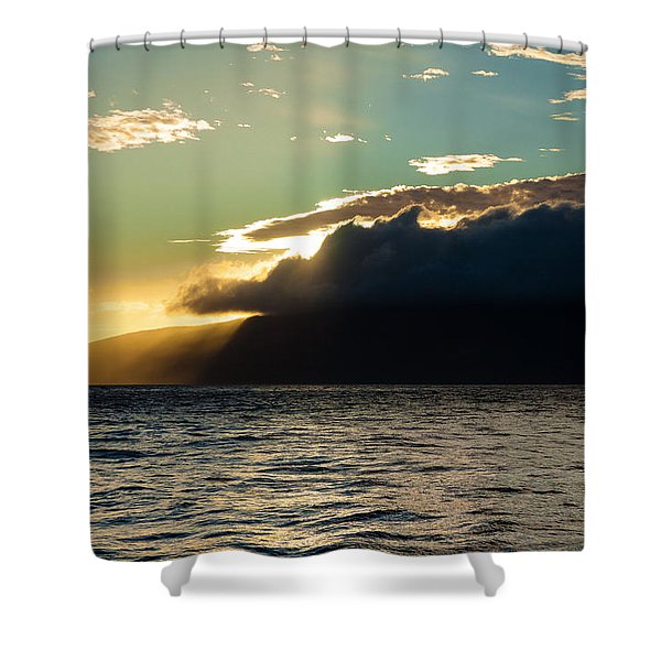 Sunset Over Lanai   Shower Curtain