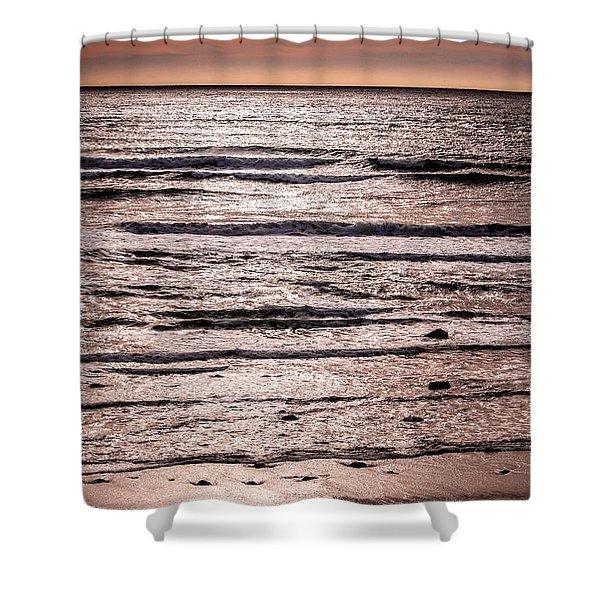 Sunset Ocean Shower Curtain