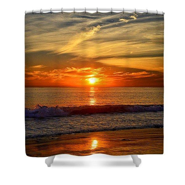 Sunset's Glow  Shower Curtain