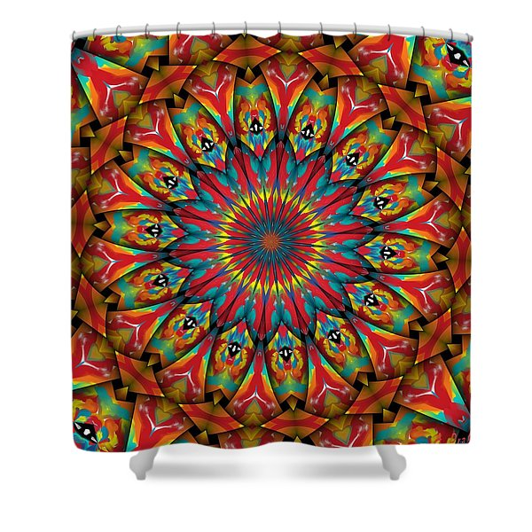 Sunsets In Texas Shower Curtain