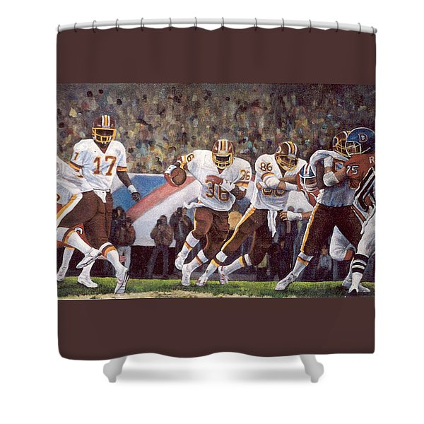 Superbowl Xii Shower Curtain
