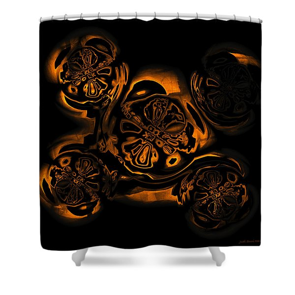 Suranan Artifact Shower Curtain