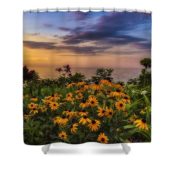 Susan's Sunset Shower Curtain