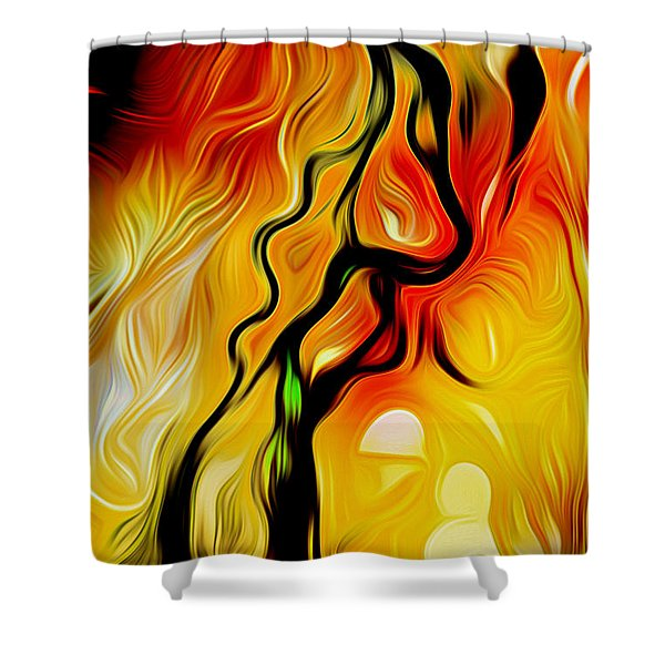 Susitna River Alaska Shower Curtain