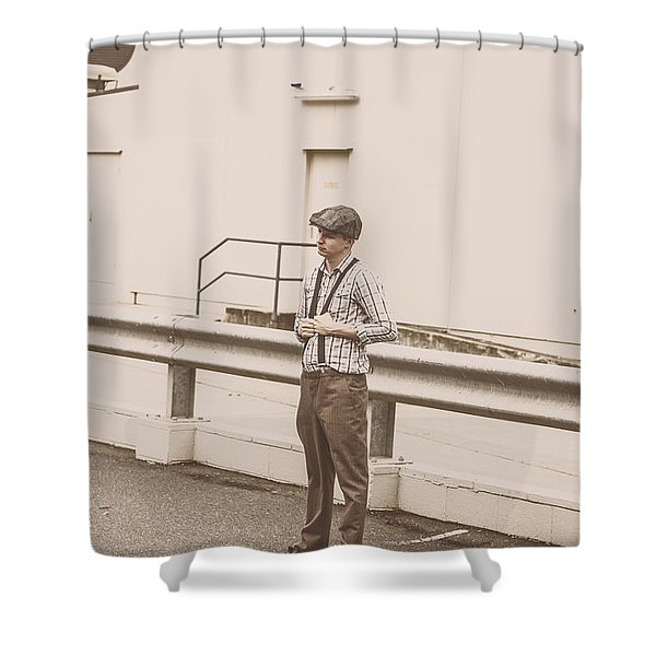 Suspended In Past Times  Shower Curtain