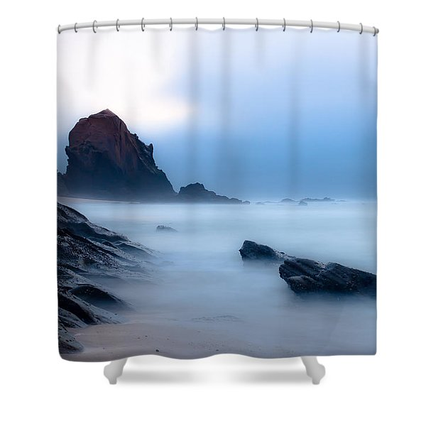 Suspended In The Infinite Shower Curtain